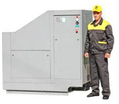 Винтовой компрессор ДЭН-30МО предназначена для снабжения сжатым воздухом пневматических систем электровоза 2ЭС6...